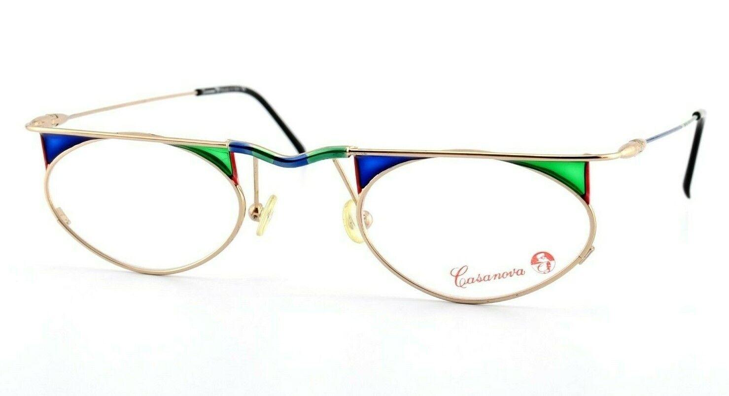 CASANOVA Brille mod. LC-48 C.04  Crazy Fancy Eye Frame Venecia  90s NOS OO | Günstige Bestellung  | Zu verkaufen  | Online Shop