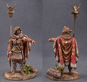 Tin toy soldiers ELITE painted 54 mm  Roman Aquilifer, end of 2nd to late 3rd Ce