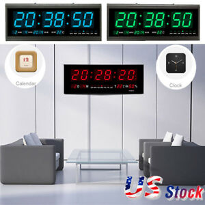 Large-Modern-Design-Digital-LED-Desk-Wall-Clock-Watches-24-or-12-Hour-Display-US