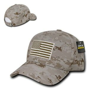 Desert Camo USA US American Flag Patch Military Combat Tactical ... 96592e9bdd8