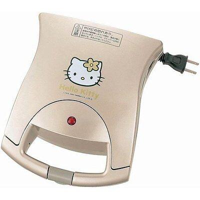 TWINBIRD Hello Kitty HP-4383KT Hot Sandwich Maker Japan Limited Rare Freeship