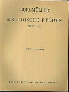 Burgmueller-034-Melodische-Etueden-opus-106-Heft-III-034-Piano