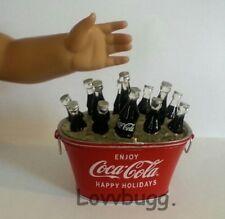 "Drinks Cokes in Cooler for 18"" American Girl Doll Food Lovvbugg Best Selection!"