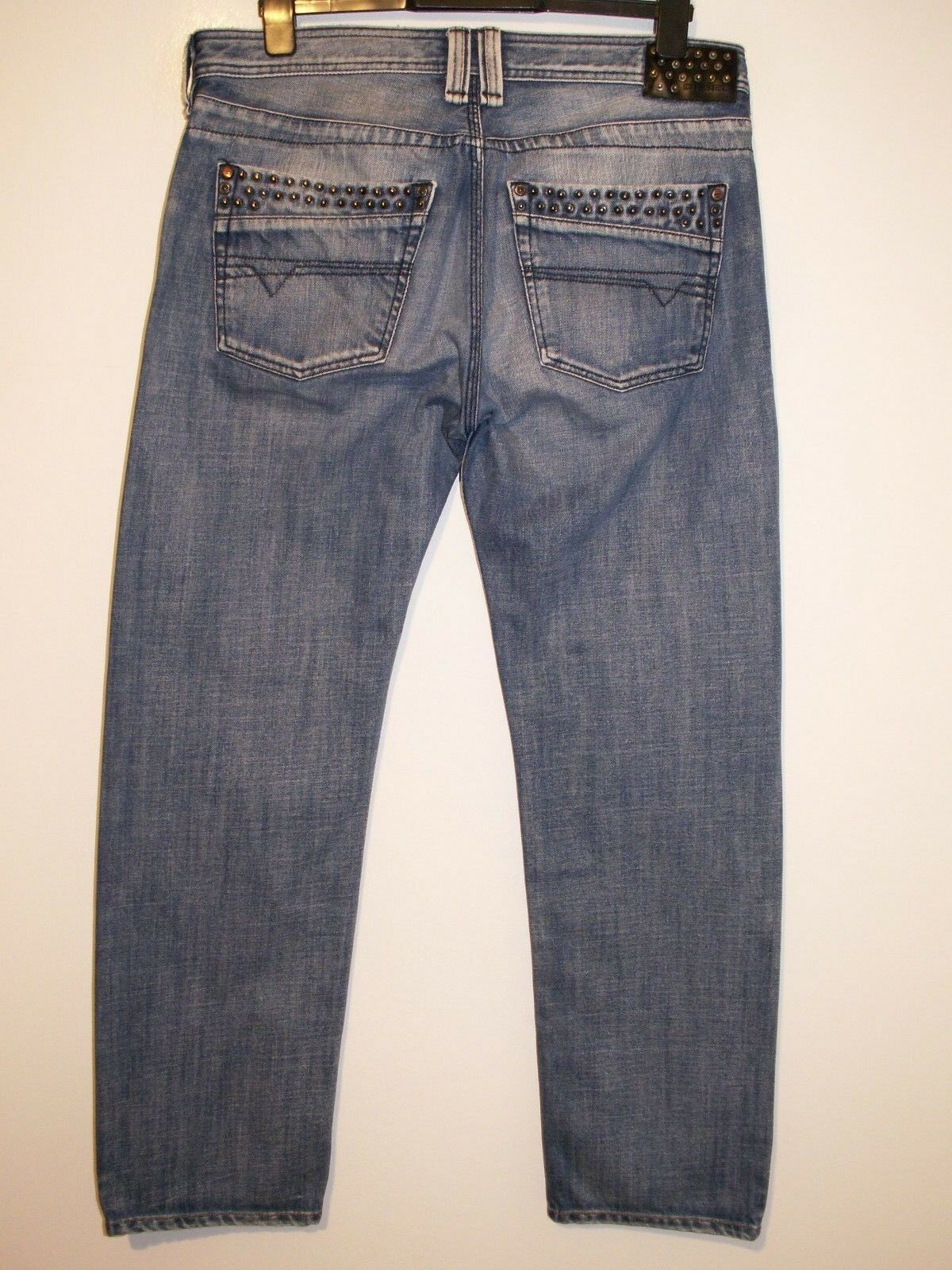 DIESEL TIMMEN REGULAR-STRAIGHT FIT JEANS 008AT 008AT 008AT W36 L32 (5678) a1d6db