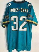 Reebok NFL Jersey Jacksonville Jaguars Maurice Jones-Drew Teal sz L