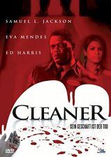 DVD | Cleaner - Sein Geschäft ist der Tod | Samuel L. Jackson | Eva Mendes | Neu