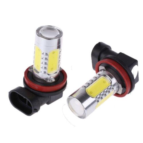 2PC COB LED Fog Driving Light Bulbs For Freightliner Cascadia 2008-2017 White US