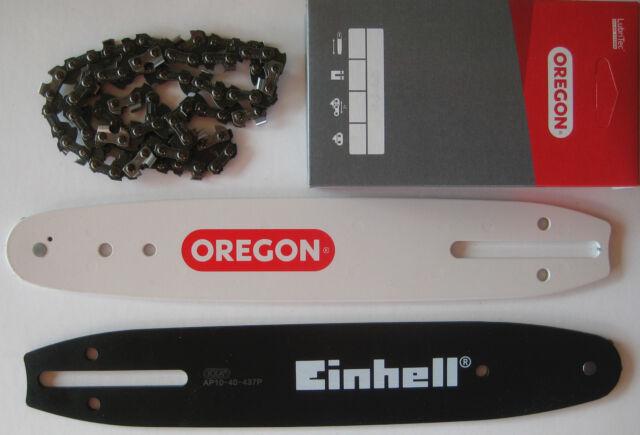"""2 Ketten passend für Einhell GE-LC 18 Li Solo 25 cm 3//8"""" 1,1 mm 40 TG Schwert"""