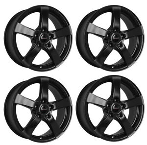 4-Dezent-RE-dark-wheels-5-5Jx14-4x100-for-OPEL-Adam-Agila-Astra-Combo-Corsa-Karl