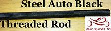 5/16-24 UNF Fully Threaded 300MM Long ROD/Bar/Studding/STUD Metric thread Black