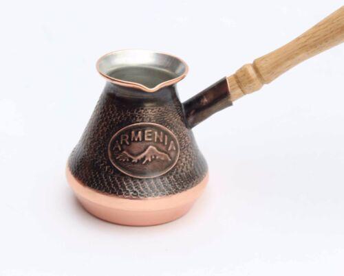 environ 113.40 g Arménien Turc Coffee Maker Cezve ibrik Arménie jezve Cuivre NOUVEAU 1 Tasse 4 oz