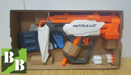 Nerf Stockshot *Brand New* Modulus dart blaster N-Strike accessory