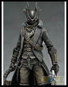 Figma-367-Hunter-Bloodborne-Figura-De-Accion-Muneca-de-PVC-juguete-nuevo-en-caja-15cm