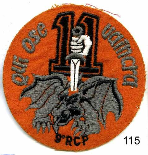 11e Cie EB115 ECUSSON BRODE 9e R.C.P