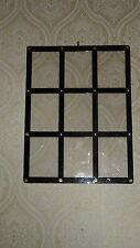 ULTRA PRO BLACK FRAME 9 CARD SCREWDOWN HOLDER Clear Trading Storage Display