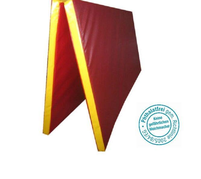 Grevinga® SCHOOL klappbare Turnmatte 200 x 200 x 6 cm, versch. Farben - RG 22 -