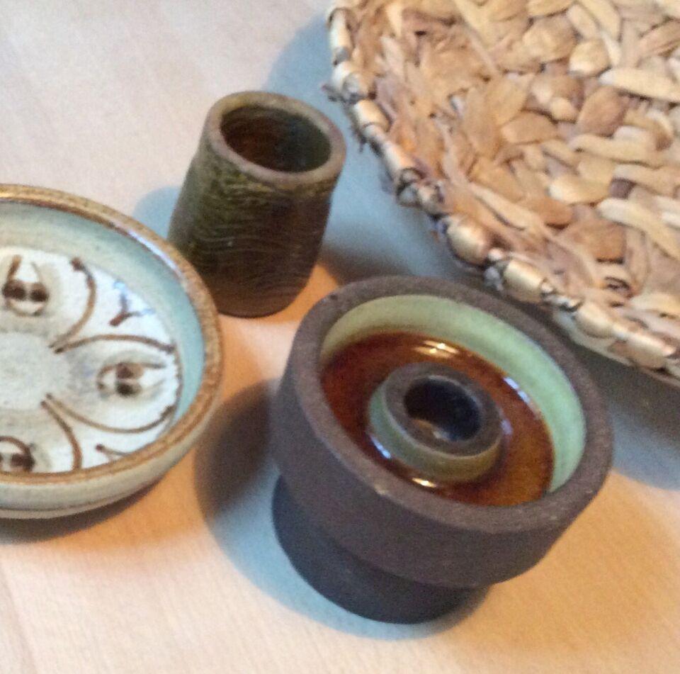 Lysestage Keramik, Knabstrup Palet serien