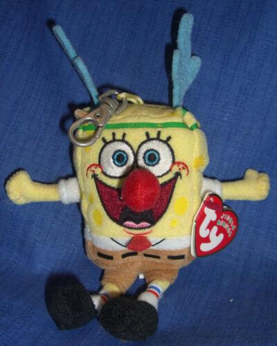 W-F-L Ty Sponge Bob Square Pants Key Chain Selection Gary Krabs Patrick