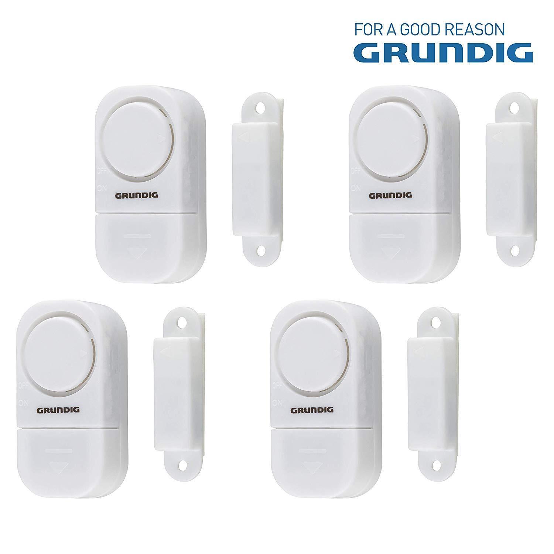 Fensteralarm im 3er Set Einbruchsmelder Alarm Einbruchschutz Türalarm