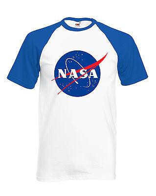 Vintage Style Nasa Baseball T-Shirt Unisex, Space, Geek, Astronaut, Nasa