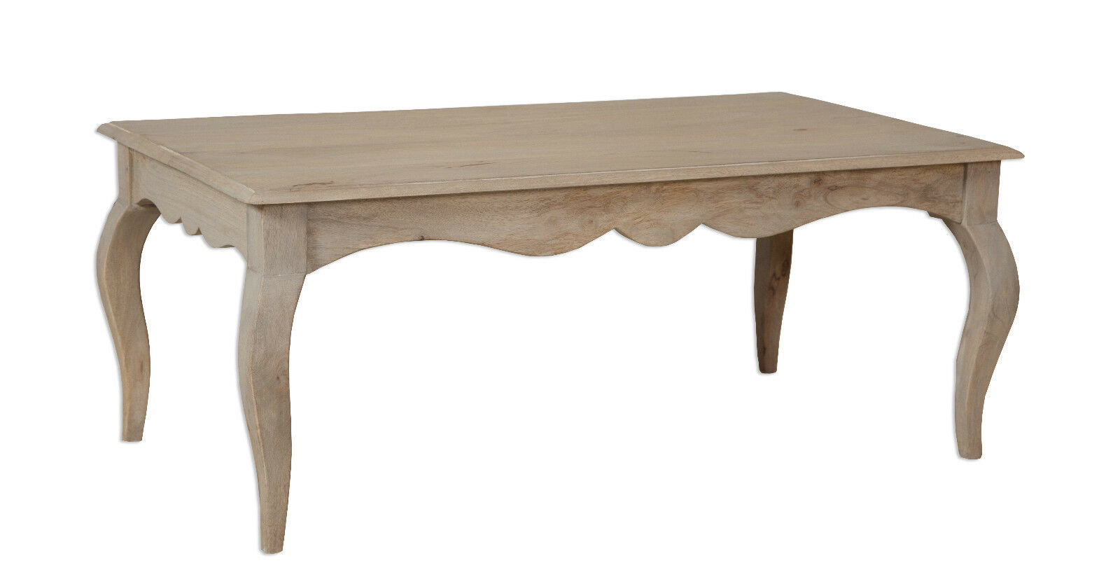 Loire french grey solid mango wood coffee table part assembled loire french grey solid mango wood coffee table geotapseo Gallery