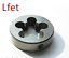 New 1pc Metric Left Hand Die M14 X 1mm Dies Threading Tools 14mm X 1.0mm pitch