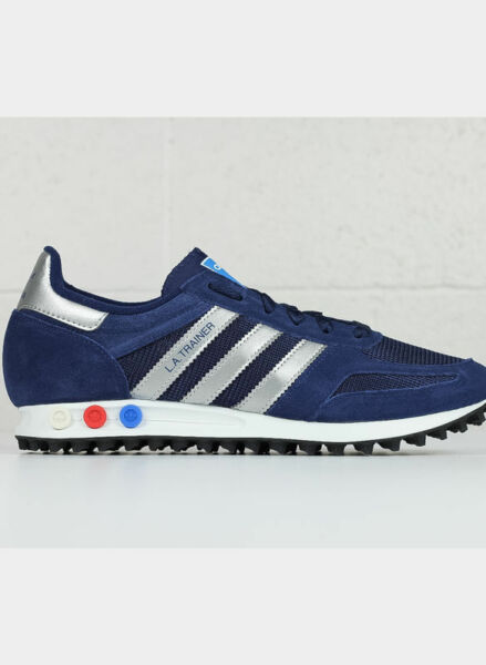 huge discount 3a5d4 d5d48 Adidas la Trainer Blu-argento Cq2278 40 Blu   Acquisti Online su eBay