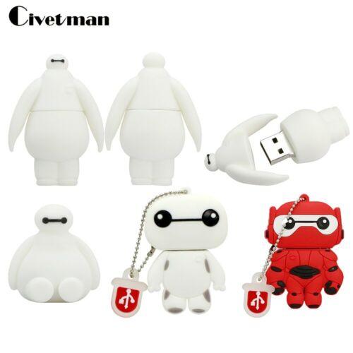 Civetman® Full Capacity Pen Drive Cartoon Big Hero 6 BAYMAX