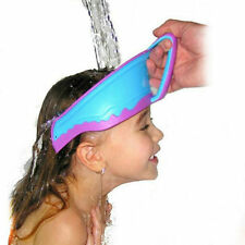 Baby Kids Children Shampoo Bath Shower Waterproof Shield Hat Cap Wash Hair UL