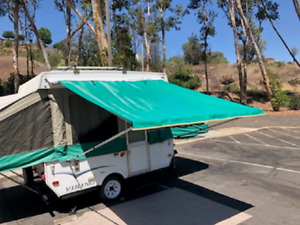 Pop Up Tent Trailer, Camping Trailer RV Bag Awning 10ft ...