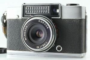 AS-IS-Minolta-repo-Rangefinder-Film-Camera-w-1-2-8-30mm-Lens-From-Japan-192