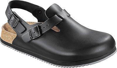 Birkenstock TOKYO Black Natural Leather size 40 48 normal Footbed & Super outsole | eBay