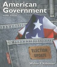American Government, Election Update (12th Edition)