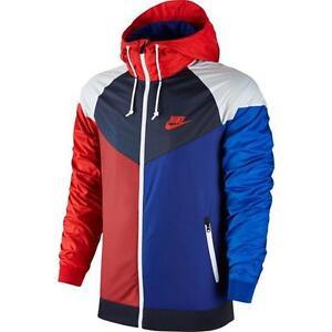 2e2cbc96f245 Image is loading Nike-Sportswear-Windrunner-Jacket-902353-657-White-Blue-