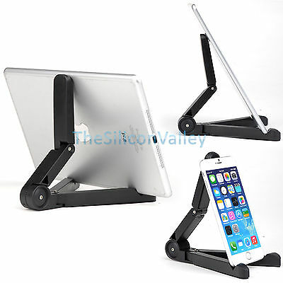 Portable Folding Adjustable Desk Holder Mount Stand For Galaxy Tablet iPad Air 2