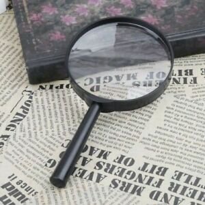 90mm-Handheld-Magnifier-5X-Reading-Newspaper-Map-Magnifying-Glass-Loupe-Jewelry