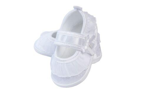 Schuhe  Neu weiss 56,62,68,74,80,86,92,98 Stirnband Taufkleid Festkleid