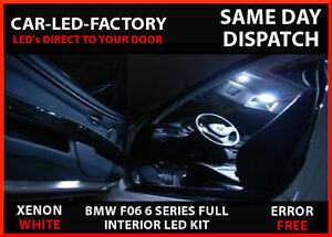 LED UPGRADE LIGHTING INTERIOR BMW F06 6 SERIES XENON WHITE