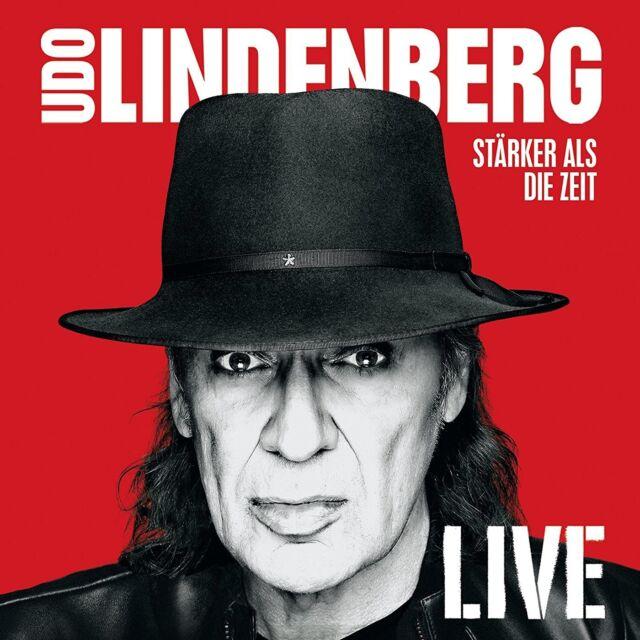 UDO LINDENBERG - STÄRKER ALS DIE ZEIT - LIVE  3 CD NEW!