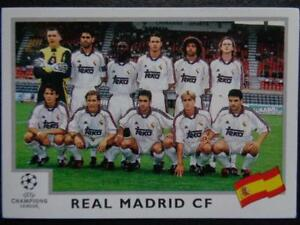 Panini-Champions-League-1999-2000-Team-Photo-Real-Madrid-CF-188