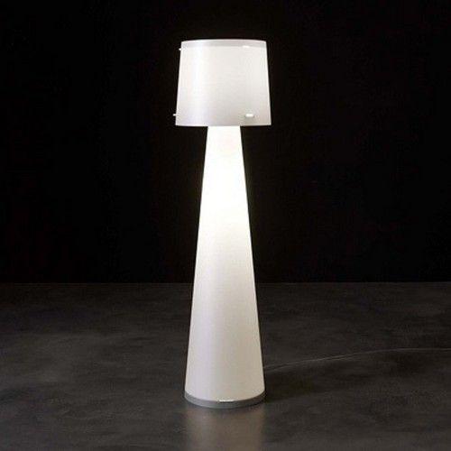 Bodeneinbauleuchte   Stehlampe Modell Diva CL435 Emporium Weiß