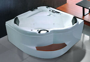 Vasca Da Bagno Doppia : Vasche vasca idromassaggio angolare bagno 140x140 full opt doccia