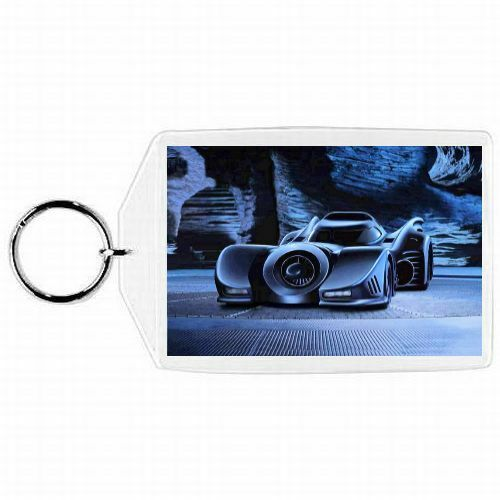 DC Comics Batman BATMOBILE Glass KEYCHAIN ORNAMENT #1