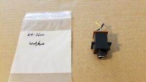 Kenwood KR-3600 receiver headphone jack E11-0060-15
