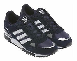 big sale c1490 a0678 adidas ZX 750 Fashion Men's Shoes, Size 9 - Navy Blue/White