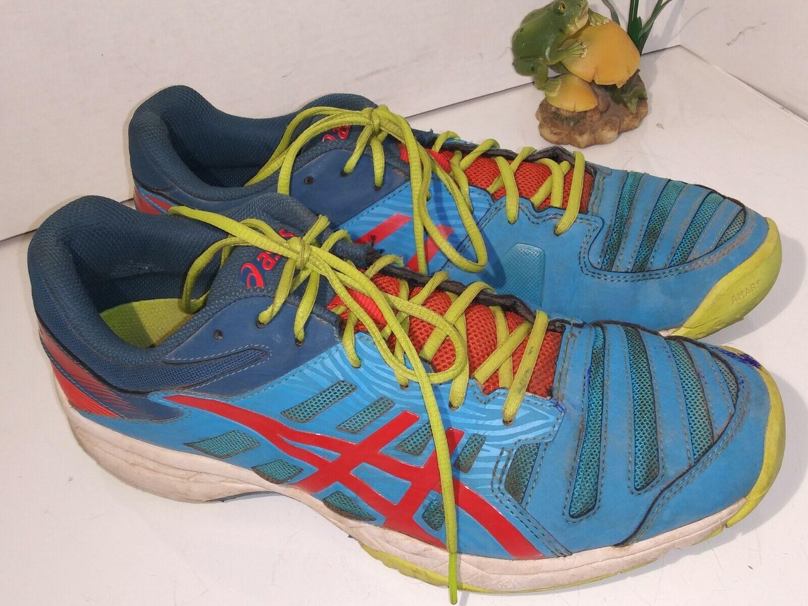 Asics E604Y-4209 Gel Solution Slam 3 Men Running shoes Sneakers bluee Sz 10.5