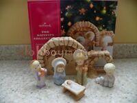 Hallmark 2012 The Nativity Collection Inspired By Mary Hamilton Creche Angel