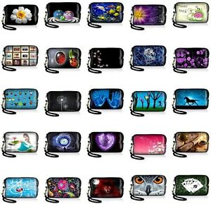 Many-Design-Soft-Neoprene-Pouch-Protective-Carrying-Cellphone-Case-Wallet-Purse