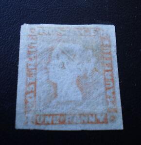 Mauritius-1848-59-1d-Red-Mint-Worn-Impression-SG-Cat-Val-8500-12500