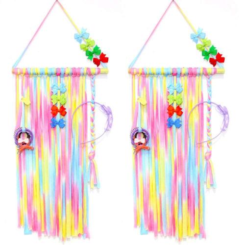 LD/_ KQ/_ JN/_ Hair Bow Holder Hanger Head Band Hoop Clips Storage Organizer Acce